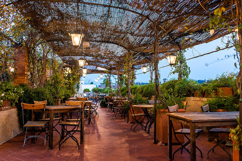 outdoor restaurant patio ideas
