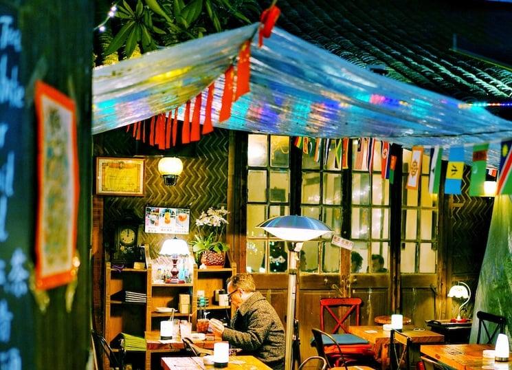 wheatherproof restaurant patio