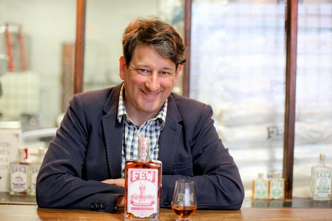 Paul Hletko Founder of FEW Spirits