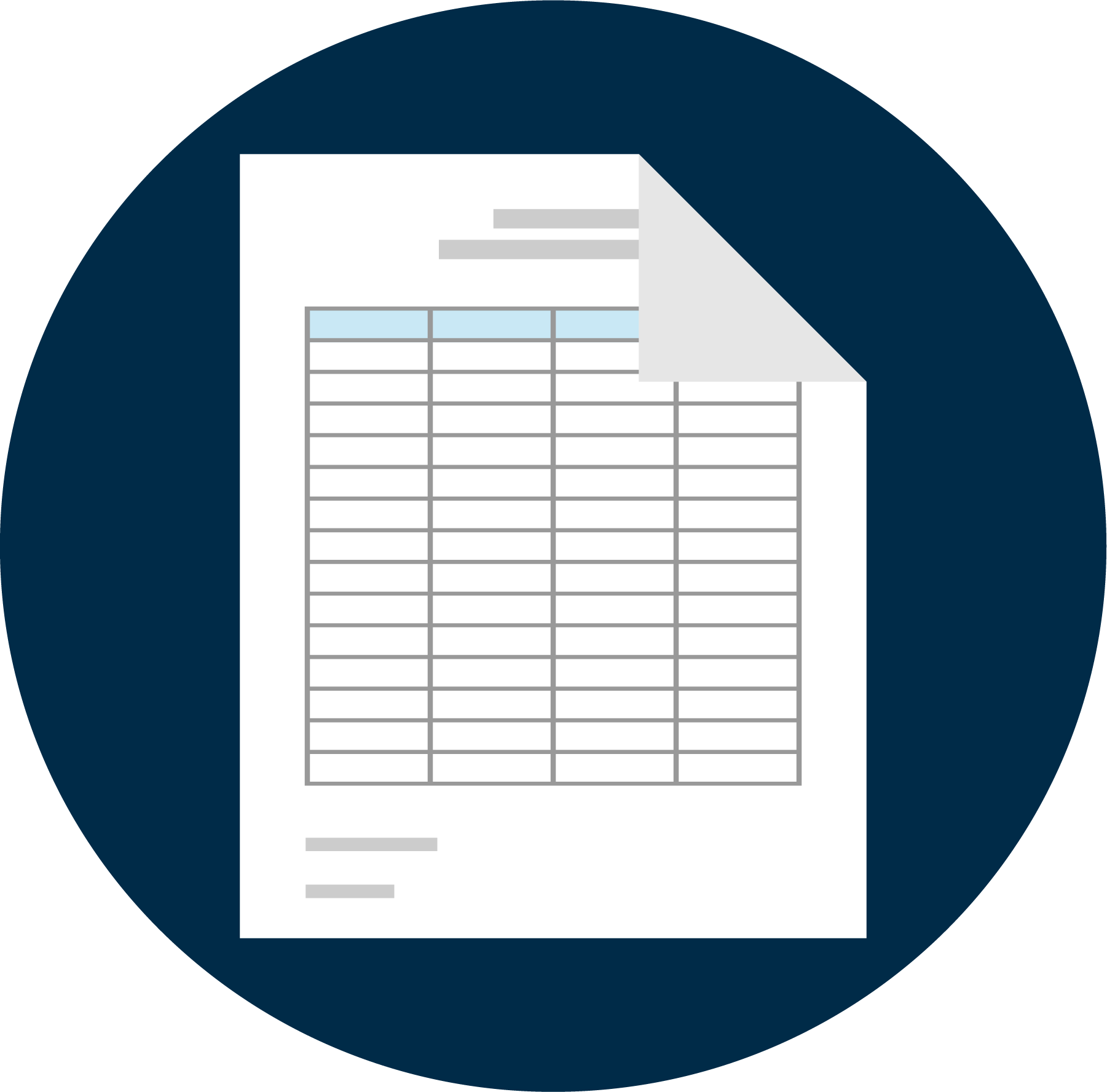 Spreadsheet Resource Icon with Background@3x