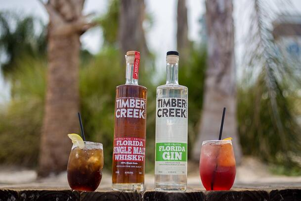 Timber Creek Distillery Spirits