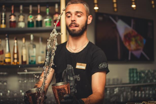 Upselling behind the bar